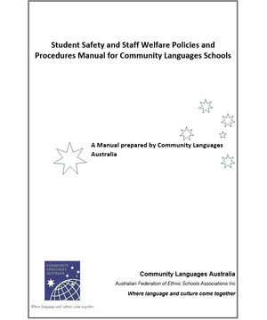 Student Safety & Staff Welfare Policies & Procedures Manual